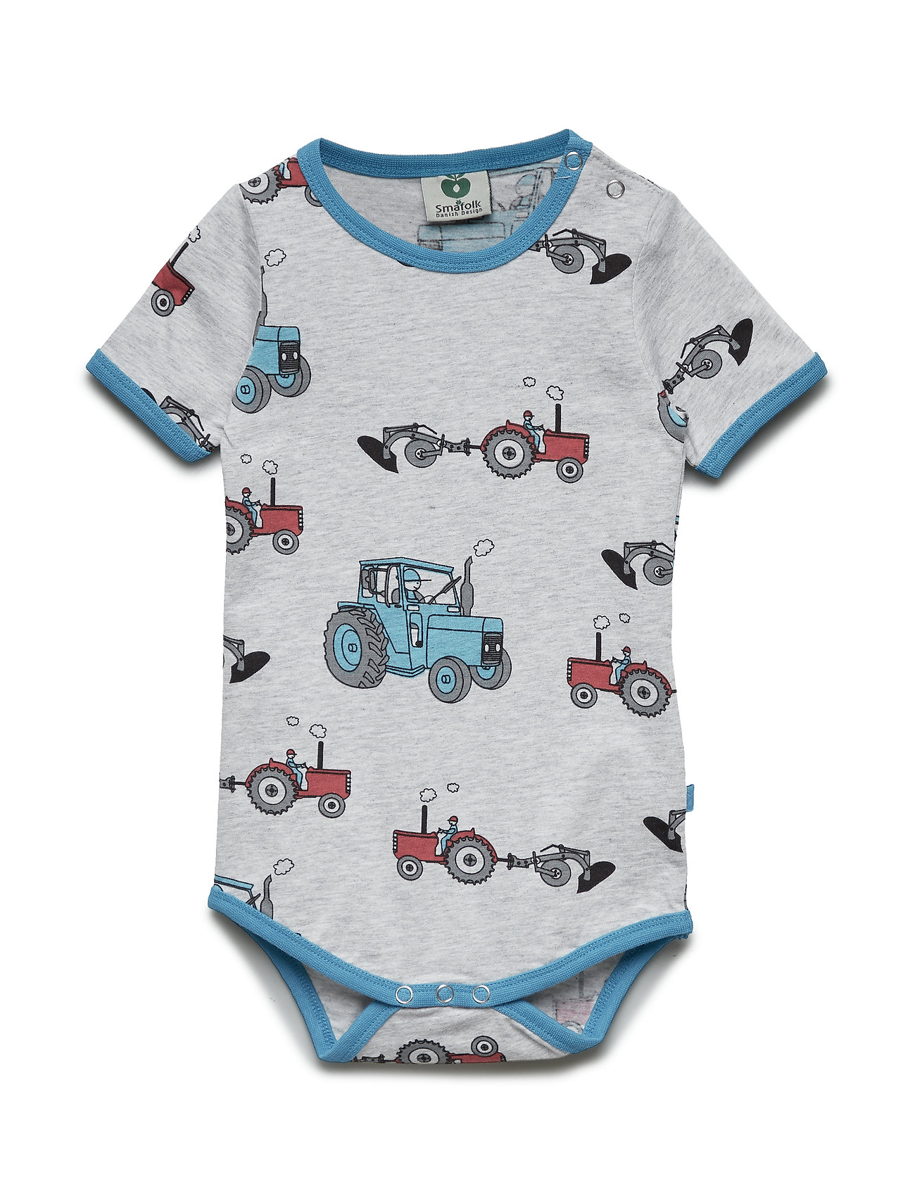 Småfolk Body SS. Tractor - LT. GREY MIX