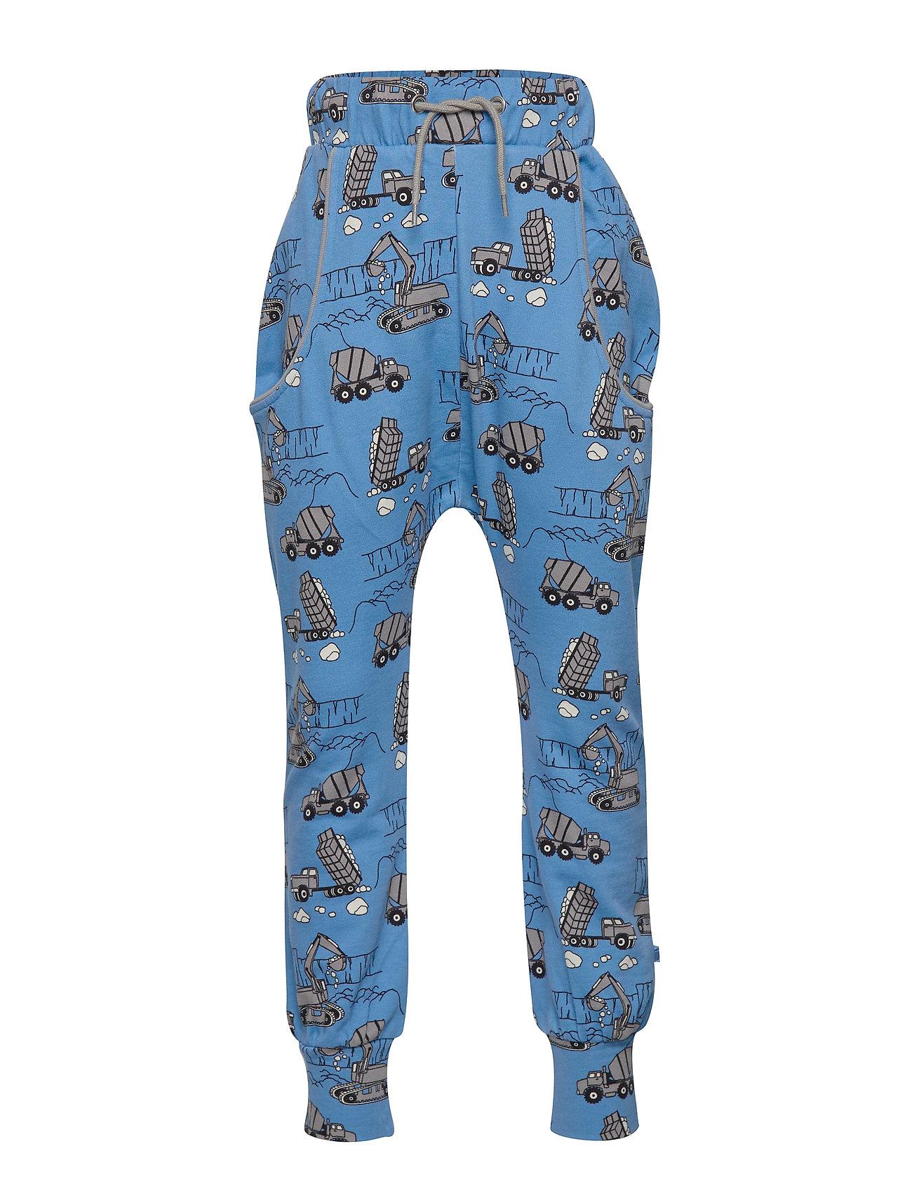 Småfolk Pants. Machine - WINTER BLUE