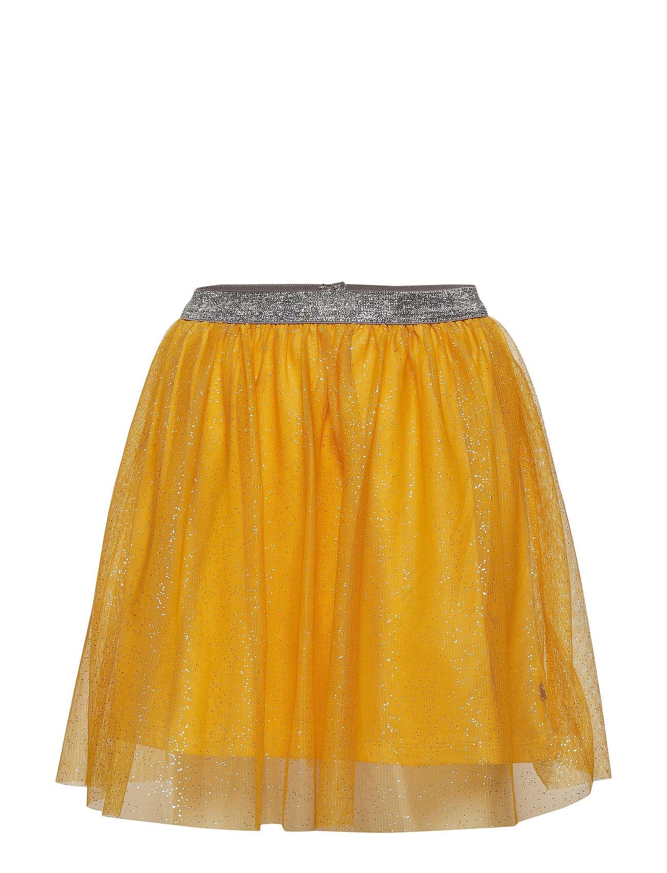 Småfolk Skirt. Tulle. Solid - OCHRE