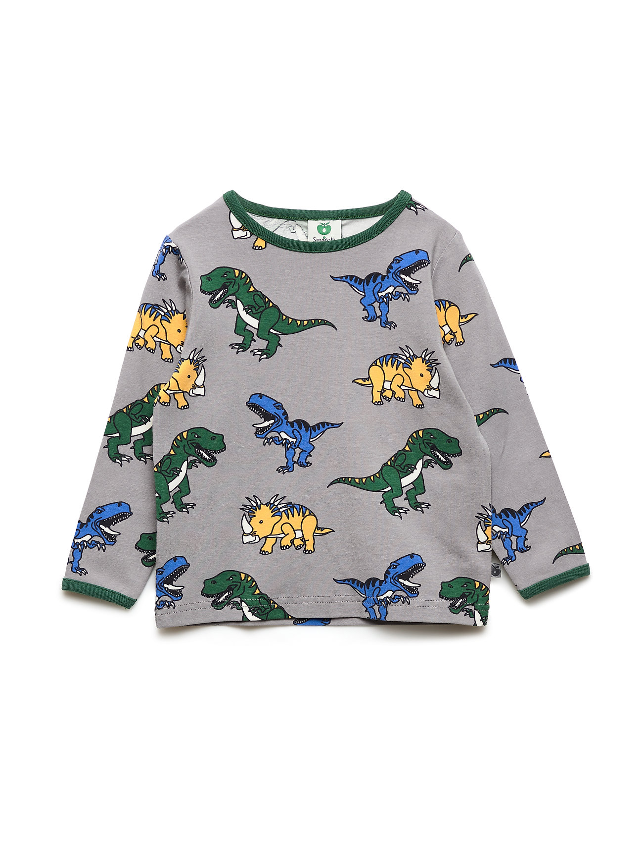 Småfolk T-shirt med dinosaurus - WILDE DOVE