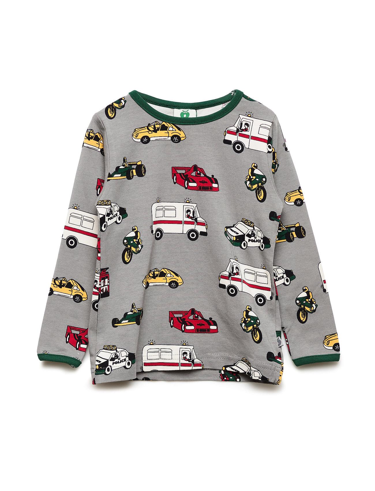Småfolk T-shirt LS. Cars - WILDE DOVE