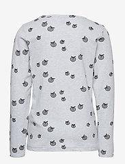 Småfolk - T-shirt LS. Apples. Originals. - lange mouwen - lt. grey mix - 1