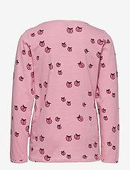 Småfolk - T-shirt LS. Apples. Originals. - lange mouwen - sea pink - 1