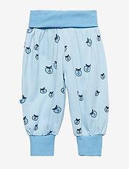 Småfolk - Baby pants Waistband. Apple. Originals. - joggingbroek - air blue - 1