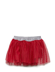 Skirt. Tulle. Solid - DARK RED