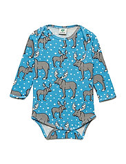 Body LS. Moose - CENDRE BLUE