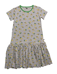 Dress with pineapple and banana - GREY MIX