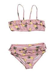 Bikini with pineapple - LT. PURPLE