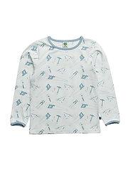 T-shirt LS. Tool - WAN BLUE