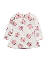 Dress LS. Polar bear