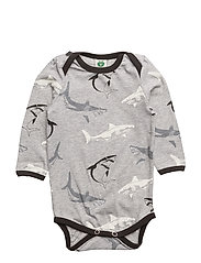 Body LS. Shark - GREY MIX