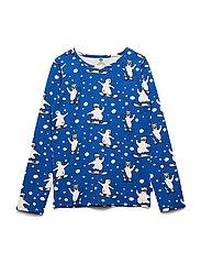T-shirt Longsleeve - TRUE BLUE
