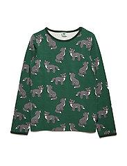 T-shirt Longsleeve - HUNTER GREEN
