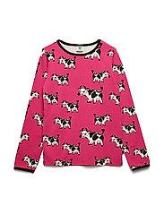 T-shirt Longsleeve - CARMINE