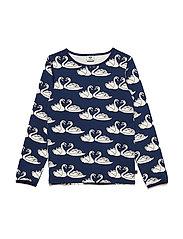 T-shirt Longsleeve - MEDIEVAL BLUE