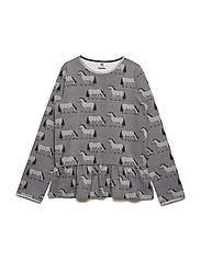 T-shirt Longsleeve - STEEL GREY