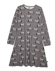 Dress Longsleeve - STEEL GREY