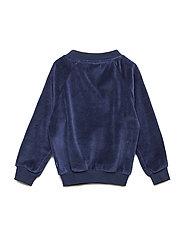 Sweatshirt. Velvet. Apple