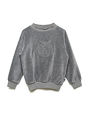 Sweatshirt. Velvet. Apple - M. GREY MIX