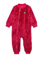 Baby Fleece Suit - CARMINE