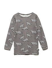 T-shirt WoolMix. Leopard