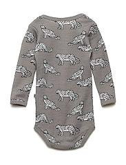 Body LS WoolMix. Leopard