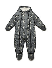 Baby Wintersuit - STEEL GREY