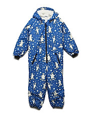 Snowsuit 1 zipper - BLUE LOLITE
