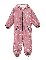 Snowsuit 1 zipper - RAPTURE ROSE