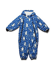 Snowsuit 2 zipper - BLUE LOLITE