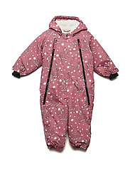 Snowsuit 2 zipper - RAPTURE ROSE