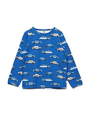 T-shirt LS. Cars - TRUE BLUE