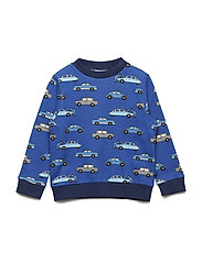 Sweatshirt. Cars - TRUE BLUE