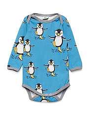 Body LS. Penguin - CENDRE BLUE