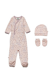 Newborn set Sophie La girafe - PALE BLUSH