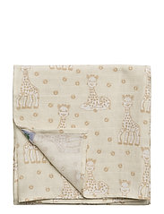 Burp Cloth. Sophie La girafe - FROZEN DEW