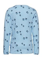 T-shirt LS. Apples. Originals. - AIR BLUE