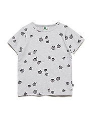 T-shirt SS. Apple. Originals. - LT. GREY MIX