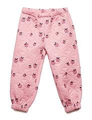 Thermo pants. Apple. - SEA PINK