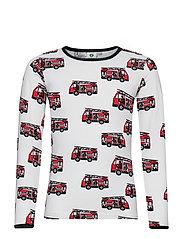 T-shirt LS. Firetruck - CREAM