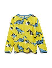 T-shirt LS. Dino - YELLOW