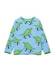 T-shirt LS. Croco - SKY BLUE