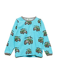 T-shirt LS. Big Tractor - BLUE ATOLL