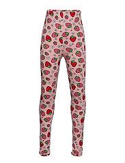 Leggings. Strawberry - SILVER PINK