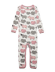 Body Suit, Elephant - SILVER PINK