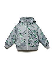 Padded Turnable jacket. Apple - APPLE GREEN