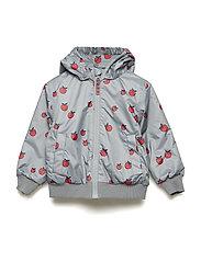 Padded Turnable jacket. Apple - APPLE RED