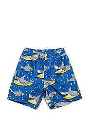 Swim shorts, long. Shark - BLUE LOLITE