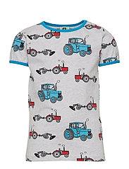 T-shirt SS. Tractor - LT. GREY MIX