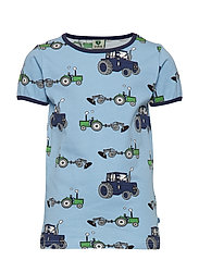 T-shirt SS. Tractor - SKY BLUE